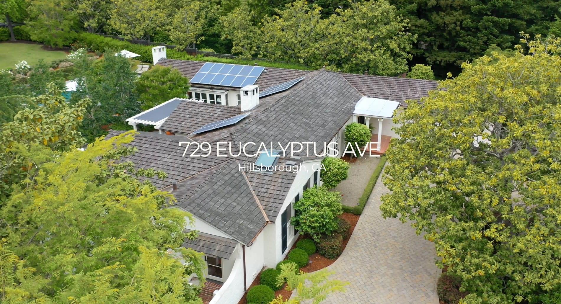 729 Eucalyptus Ave, Hillsborough video preview