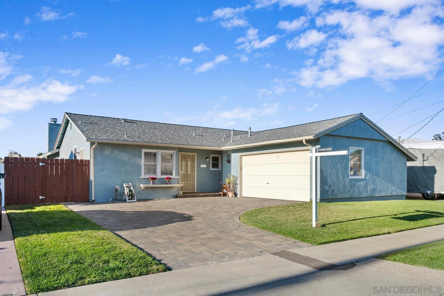 Clairemont Mountain Street Home photo