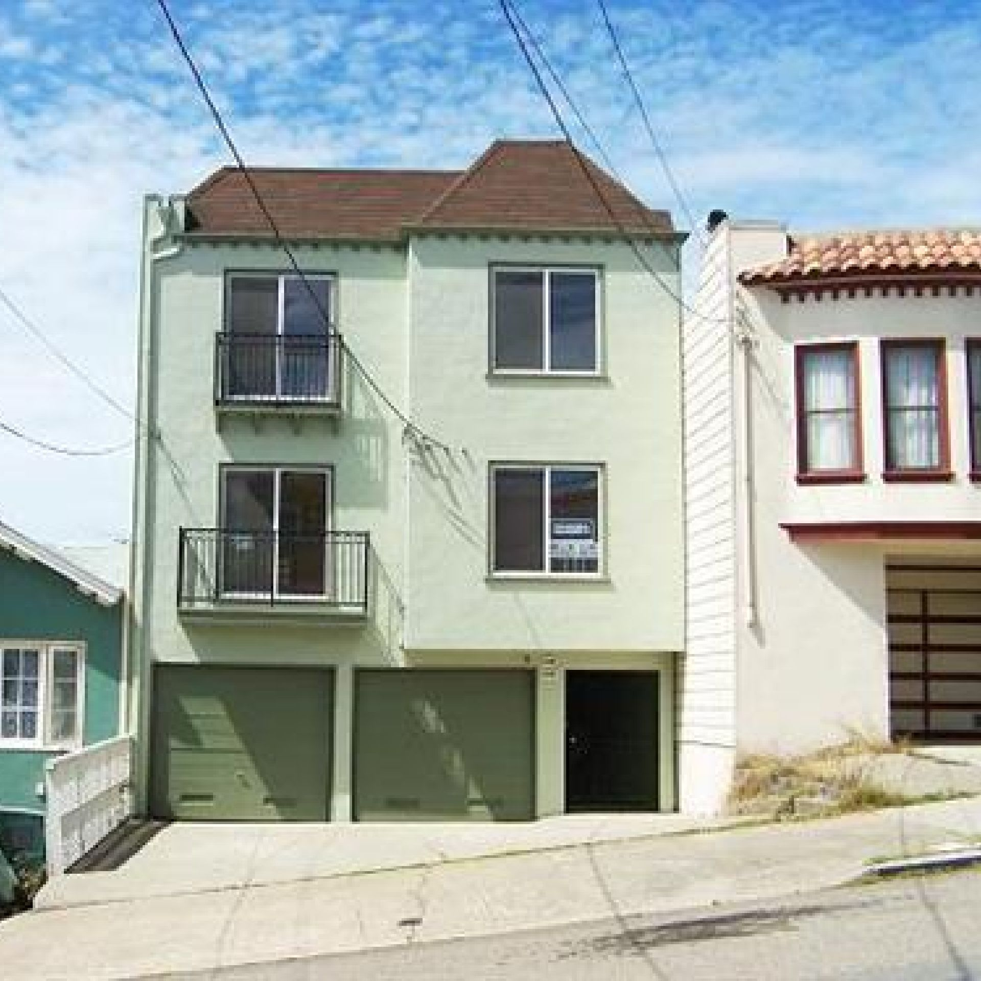 Two 2BR/2BA flats in Outer Richmond