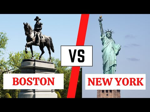 Living in Boston VS Philadelphia I Watch this before moving video preview