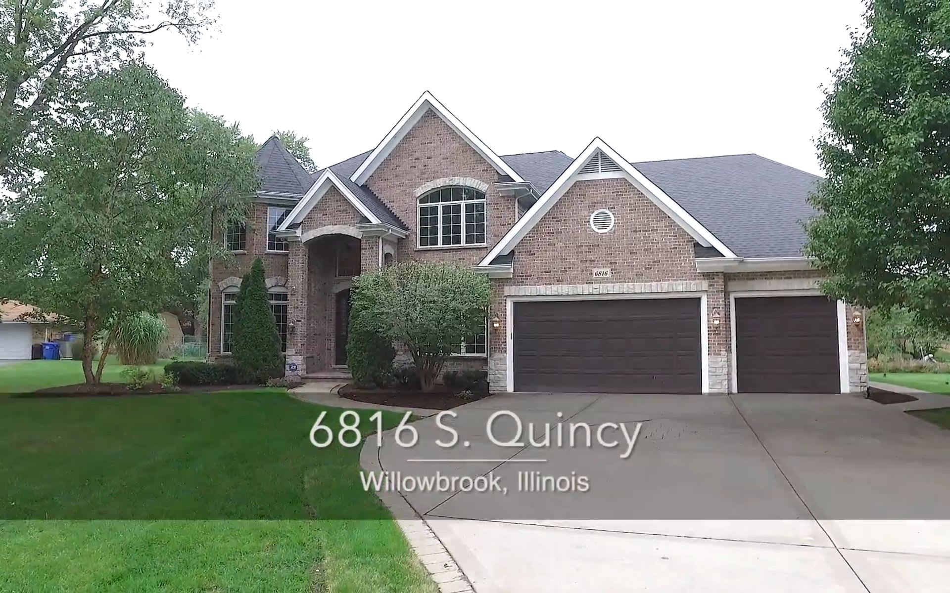6816 SOUTH QUINCY, WILLOWBROOK, IL DAWN MCKENNA GROUP video preview
