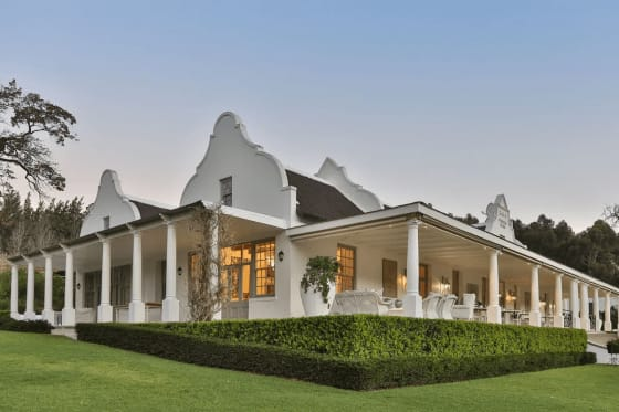 The Luxury Vineyards of South Africa