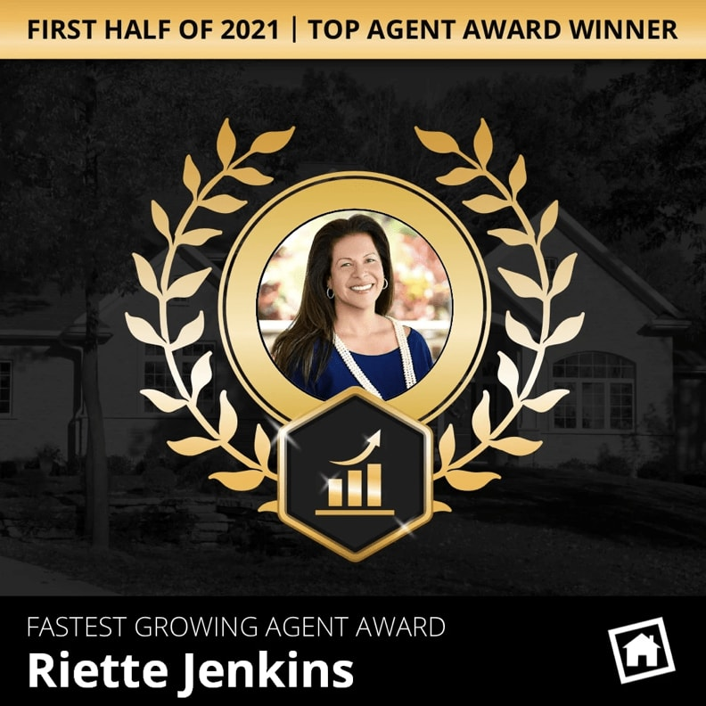 Fastest-Growing Agent Award for the first half of 2021!