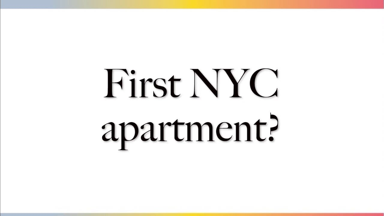First apartment in NYC video preview