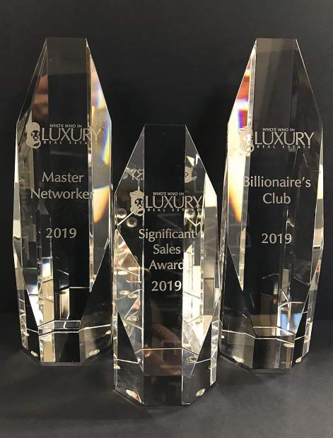 LIV Sotheby's International Realty brokers recognized at luxury real estate conference in DC