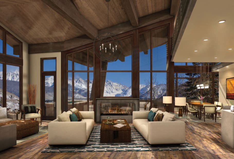 Once-in-a-lifetime opportunity to own stunning new construction at the base of Vail Mountain