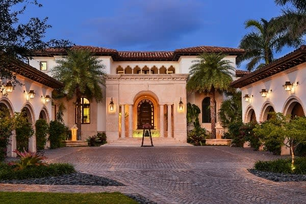 Look Inside the $24 Million Mansion That Cafe Bustelo Built