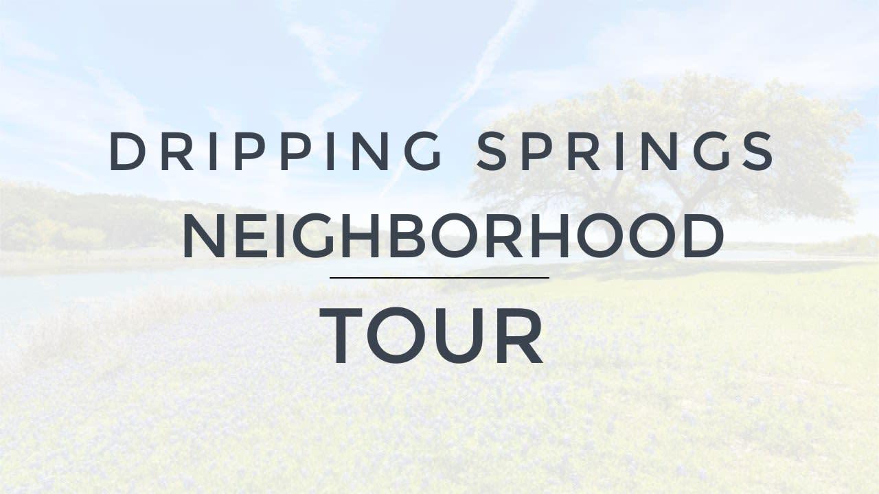 Best Austin Neighborhoods - Dripping Springs video preview