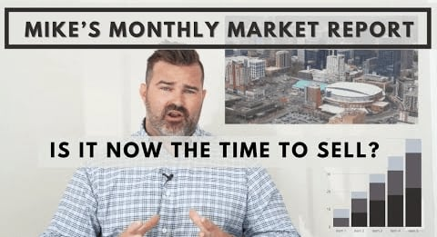 2021 Real Estate Market Update: Is Right Now the Best Time to Sell your Home?  Mike's Monthly Report video preview