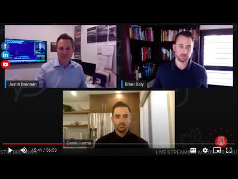 The hot seat presented by Justin Brennan with Brian Daly, and Derek Harms| Realtor-Investor | How is COVID changing the way you underwrite flip real estate deals | April 2020 video preview