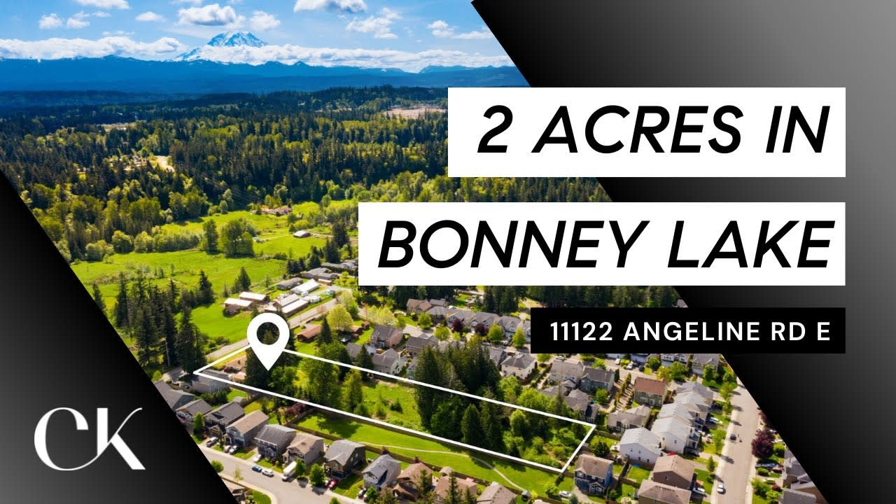 2 Acres in Bonney Lake! video preview