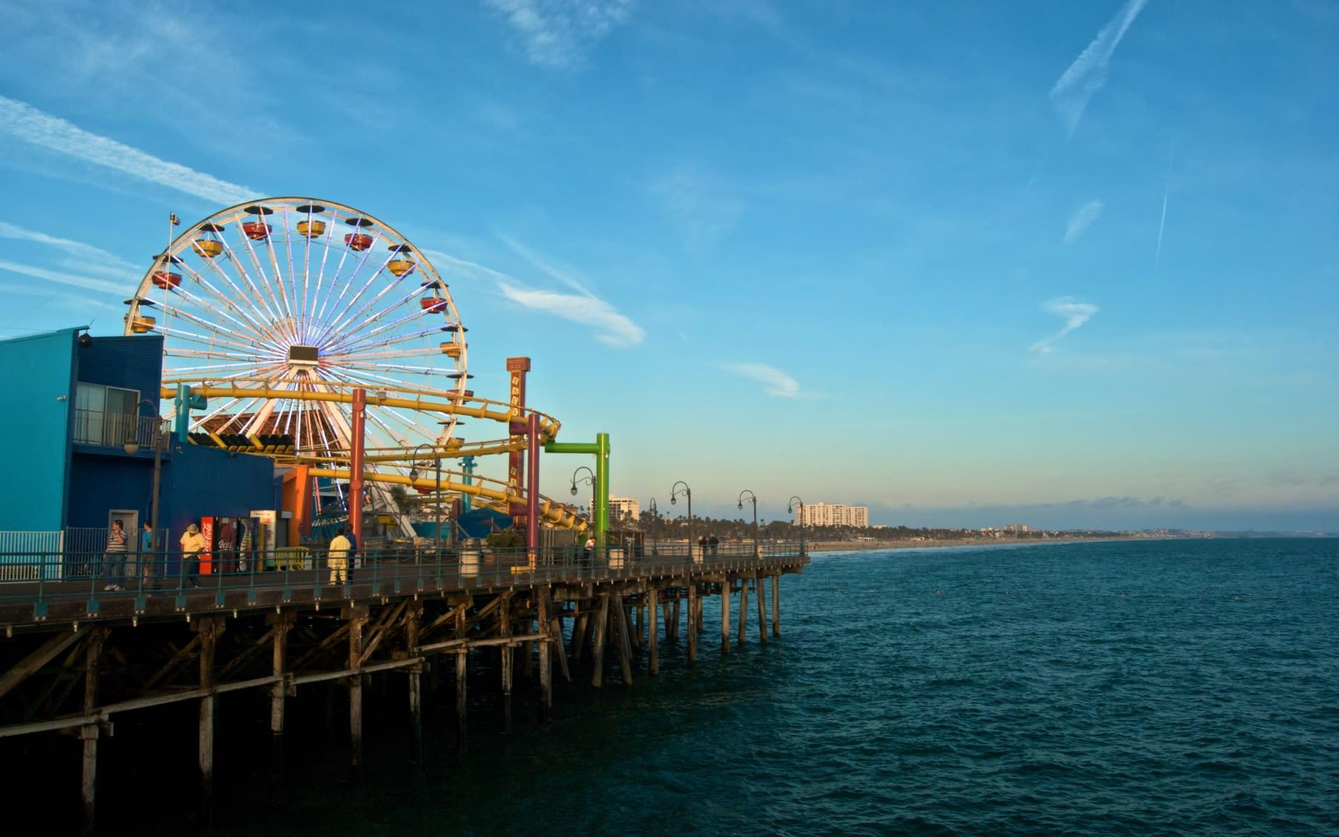 Santa Monica Neighborhood HD video preview