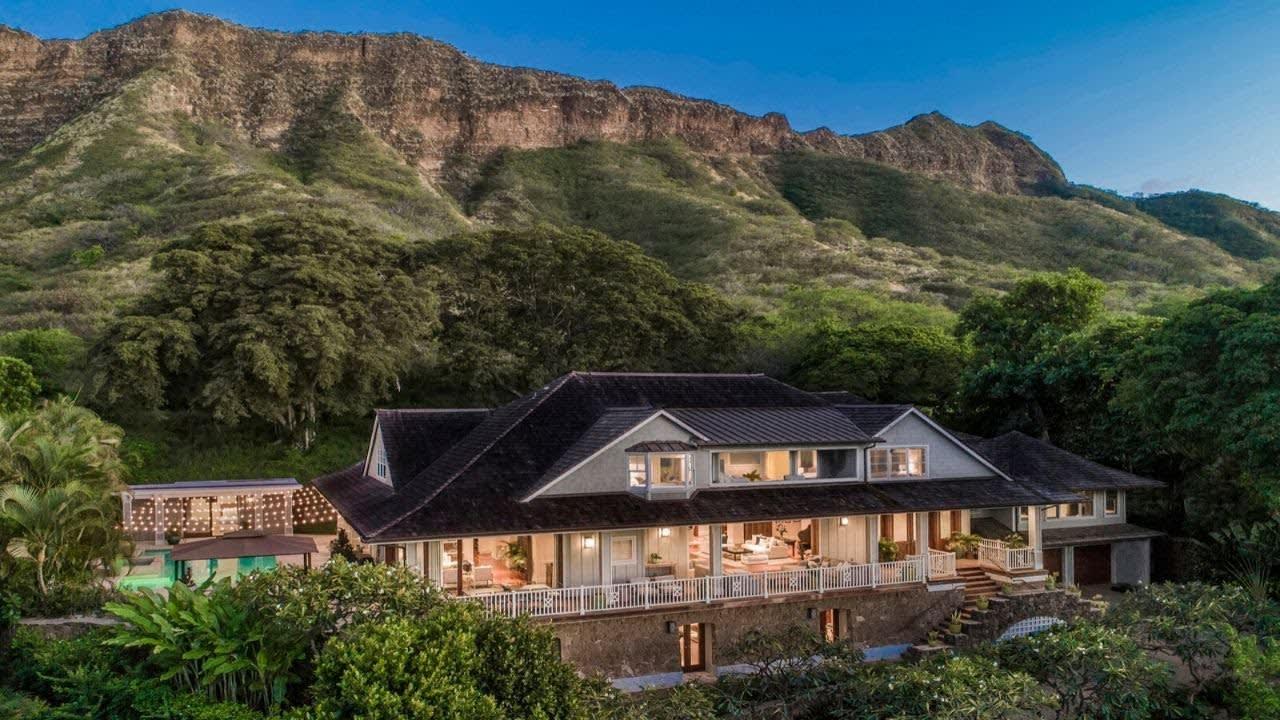 3175 Noela Drive, Diamond Head, Honolulu, Hawaii video preview