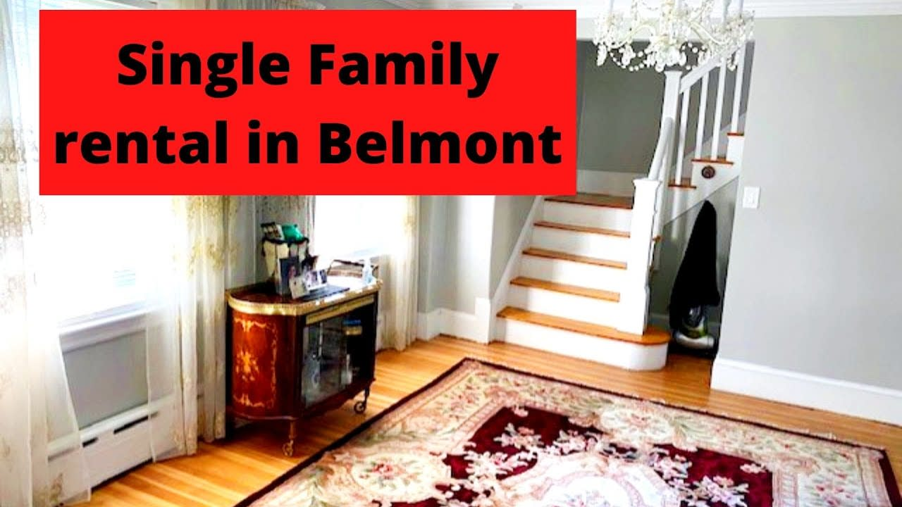 Single Family Rental in Belmont, MA video preview