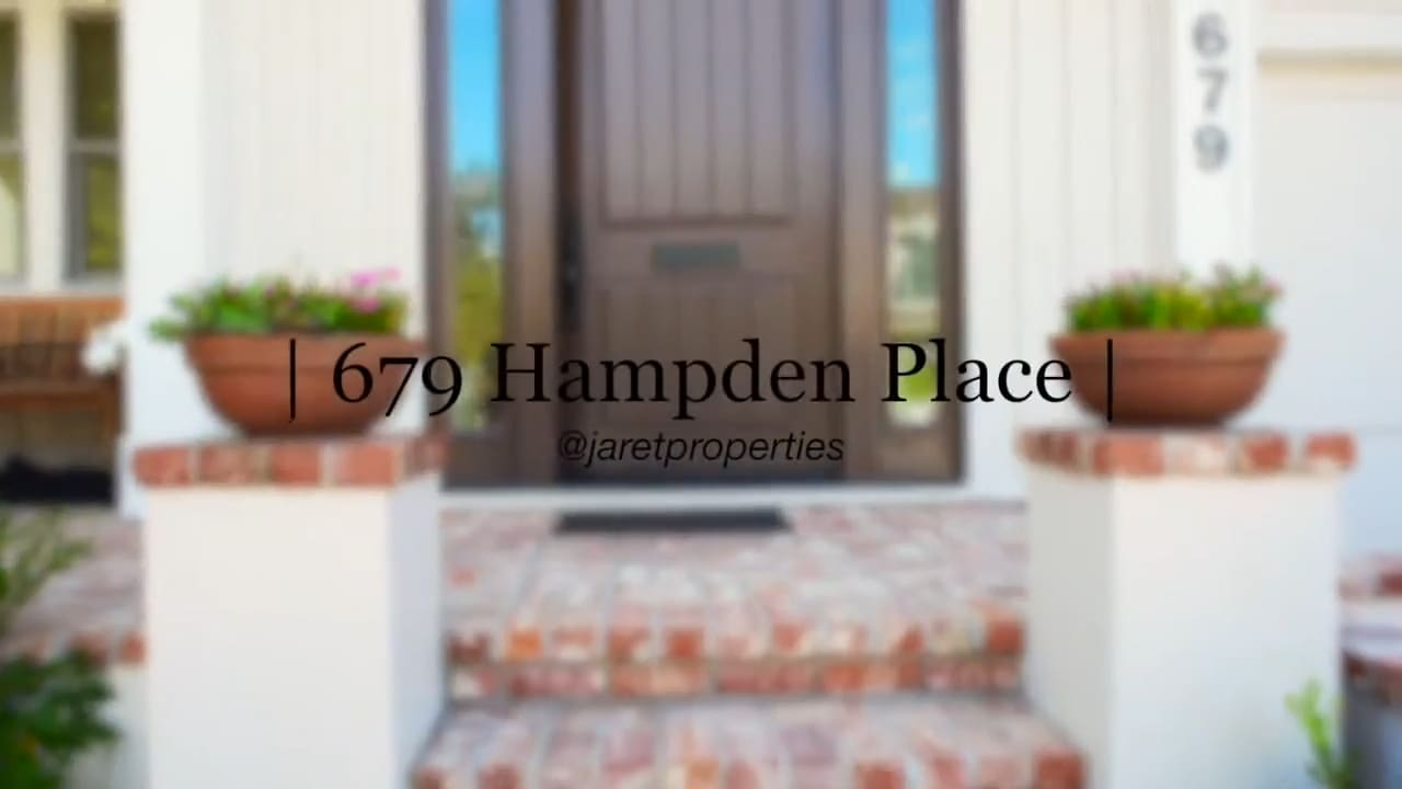 679 Hampden Place video preview