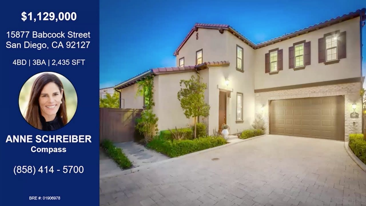 San Diego Real Estate: Del Sur Home for sale with Ocean + Black Mountain Views! video preview