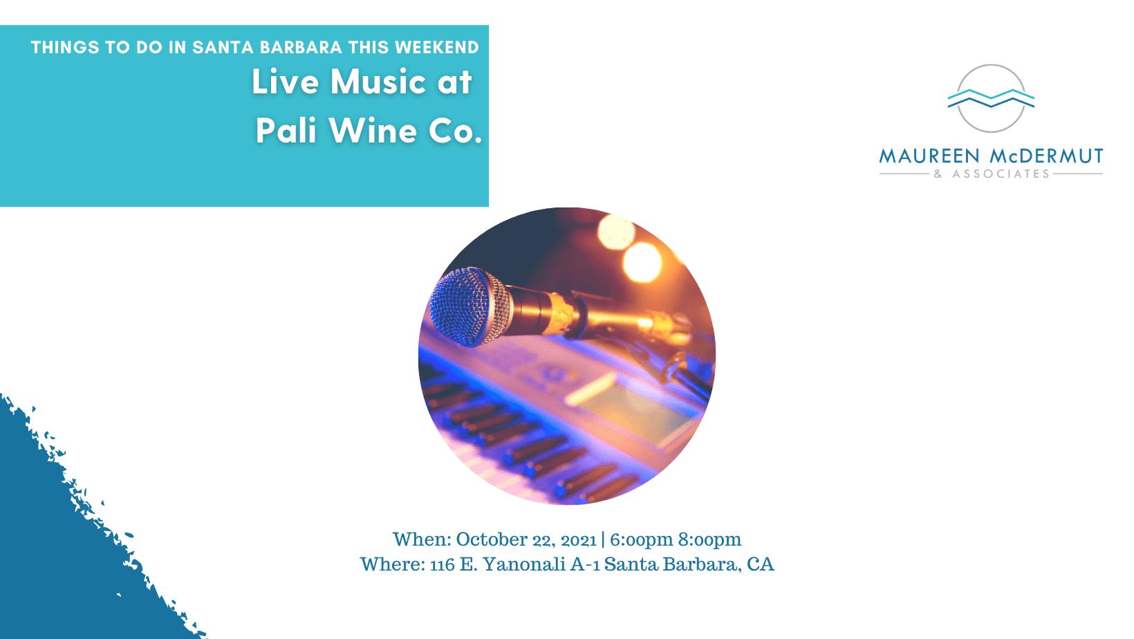 Live Music at Pali Wine Co. image