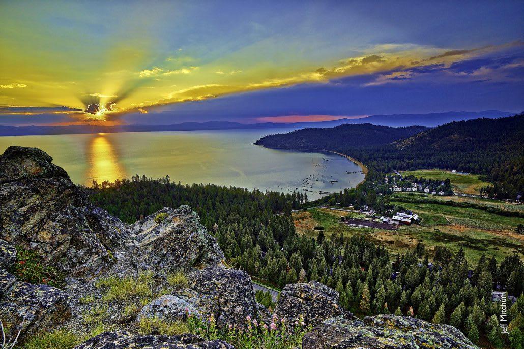Lake Tahoe East Shore and Glenbrook