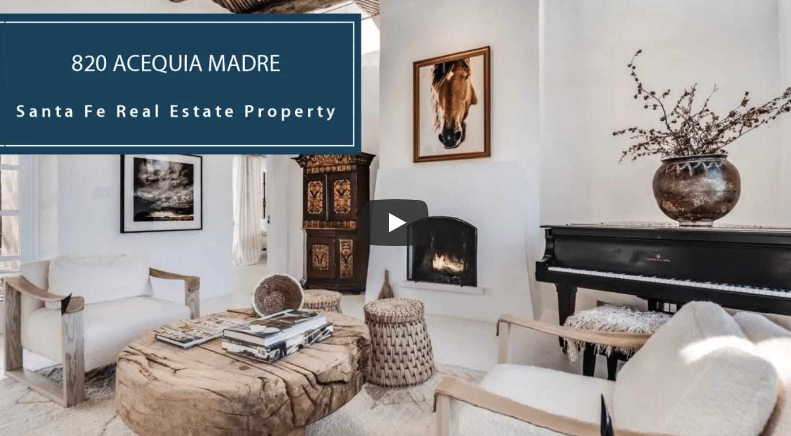 On the Acequia | 820 Acequia Madre video preview