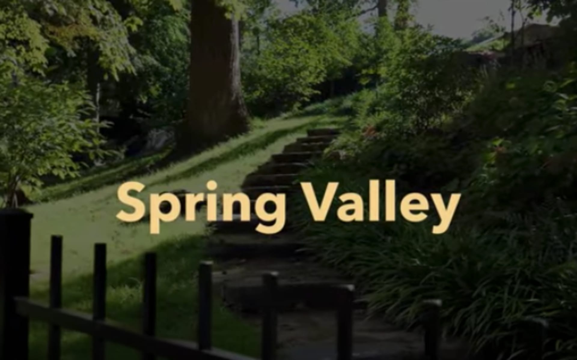 Spring Valley video preview