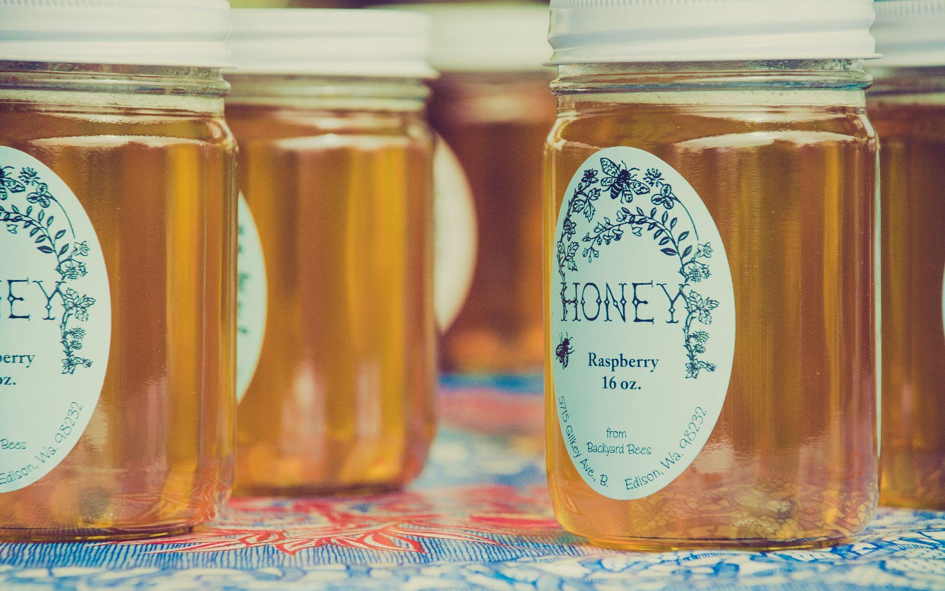 Milton Honey Stands
