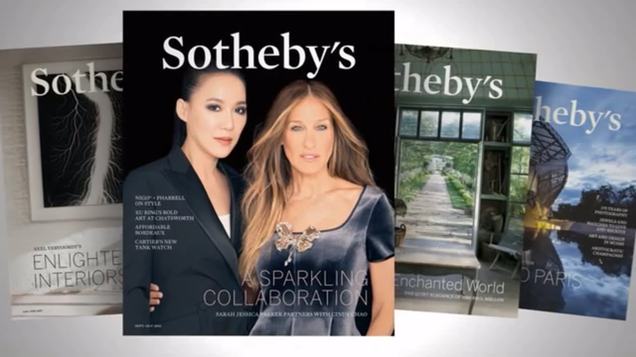 Sotheby's Magazine video preview