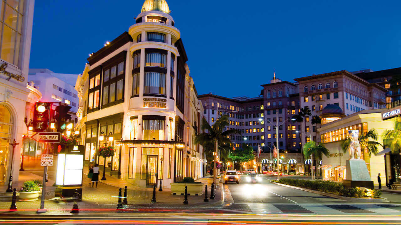 Beverly Hills Platinum Triangle Shopping District