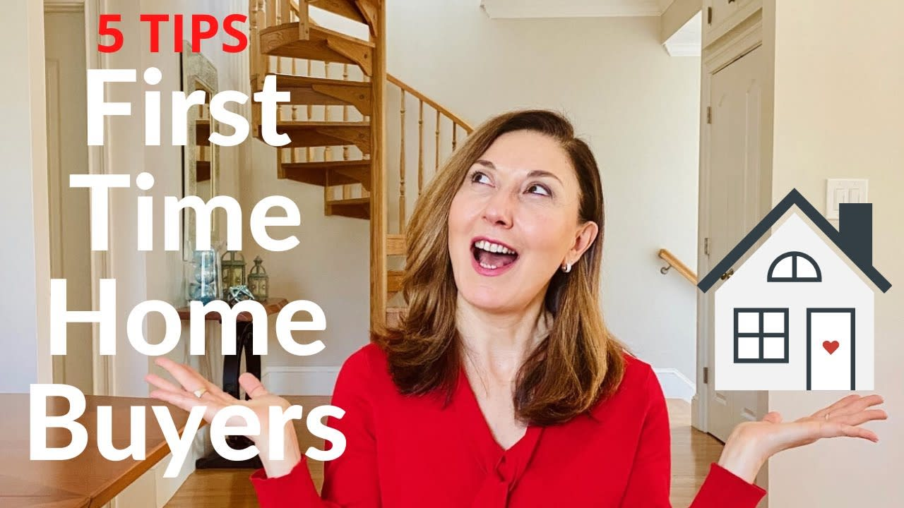 5 THINGS FIRST-TIME HOME BUYERS SHOULD THINK ABOUT! video preview