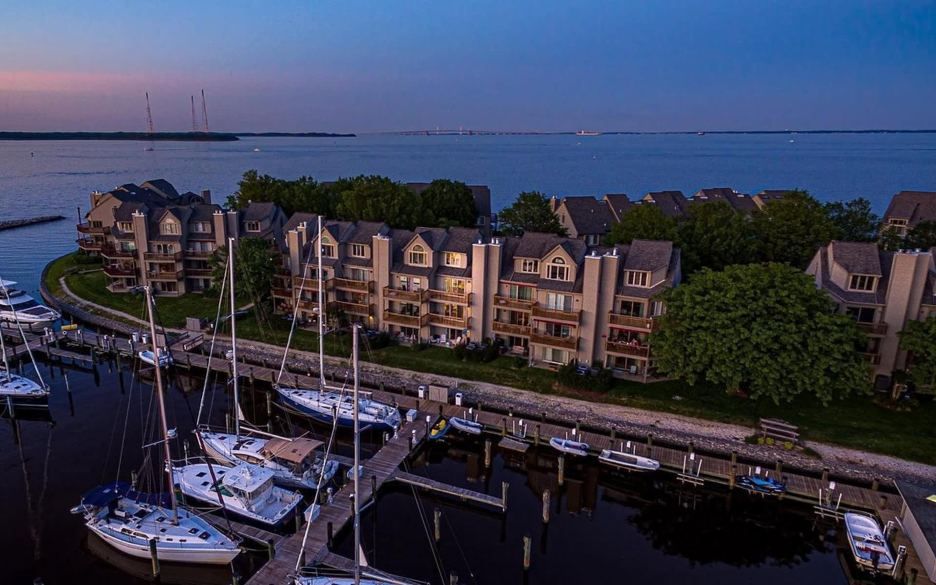 Captivating Annapolis Waterfront Townhouse   2192 Chesapeake Harbour Drive video preview
