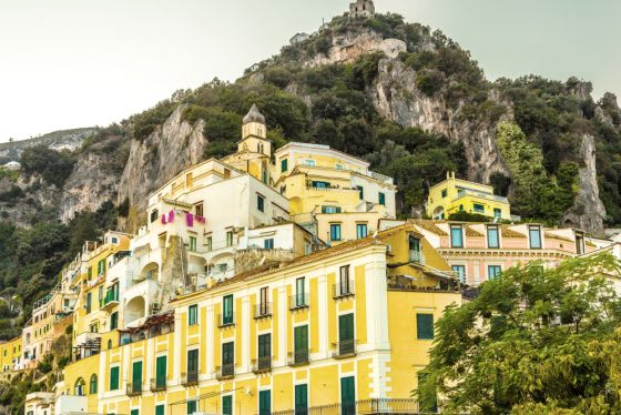 Inspired by Travel | How to Bring the Colors of the Amalfi Coast Home