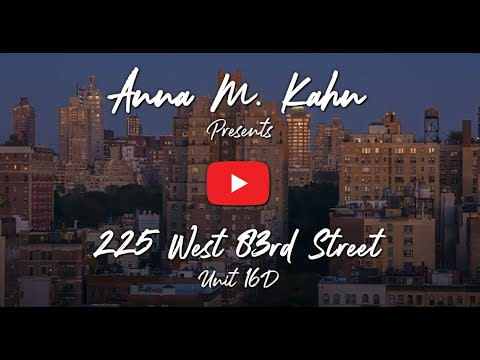 225 West 83, Residence 16-D video preview