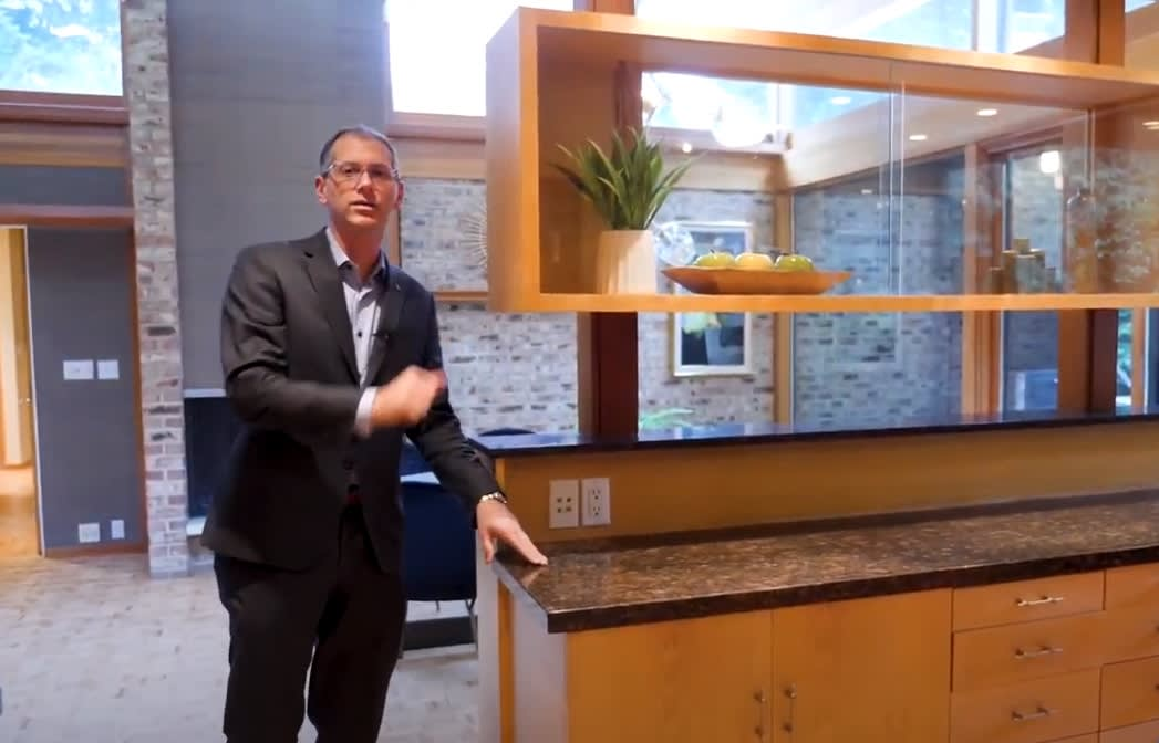 American Dream: Designed by Architect Paul Kirk in Woodway, WA - Adam E. Cobb video preview