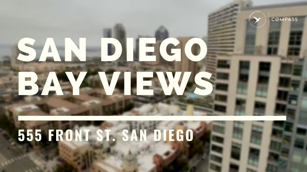 San Diego Real Estate: San Diego Bay Views! video preview