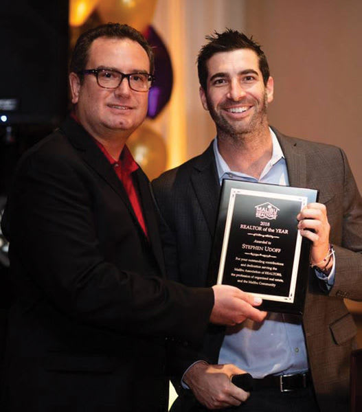 Stephen Udoff Named Realtor of the Year
