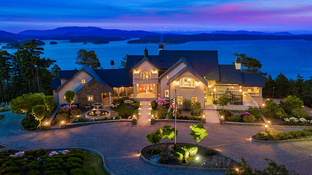 Welcome to Eagle's Nest Estate on San Juan Island video preview