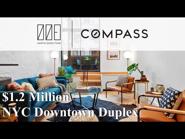 $1.2M Greenwich Village Duplex | 67 E 11th Street video preview