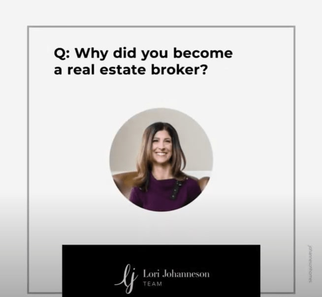 Q&A   Why did you become a Real Estate broker? video preview