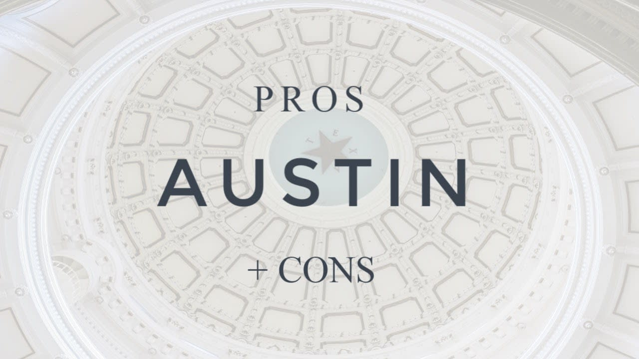 AUSTIN PROS and CONS - More Pros than Cons! video preview