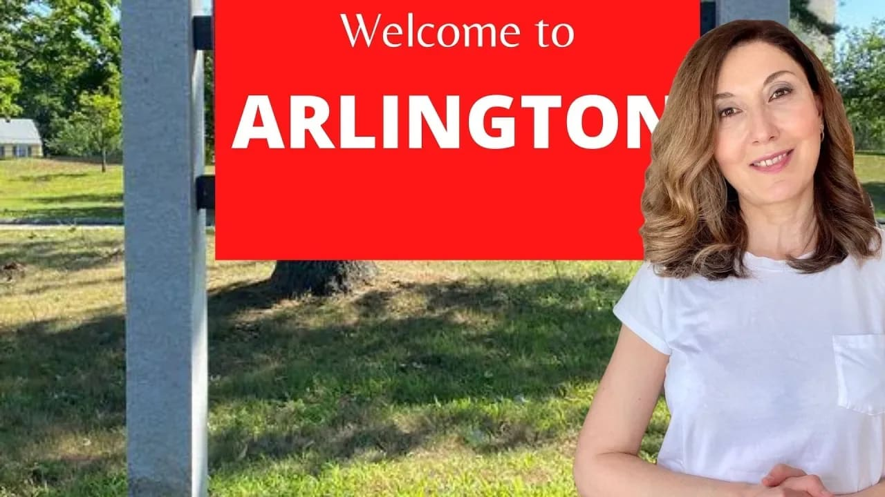 ARLINGTON, MA - what you need to know before moving to Arlington. video preview