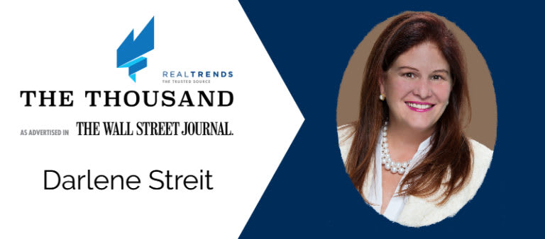 Darlene Streit a National Leader Among Real Estate Agents. Again.