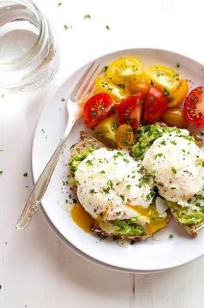 Poached Egg & Avocado Toast