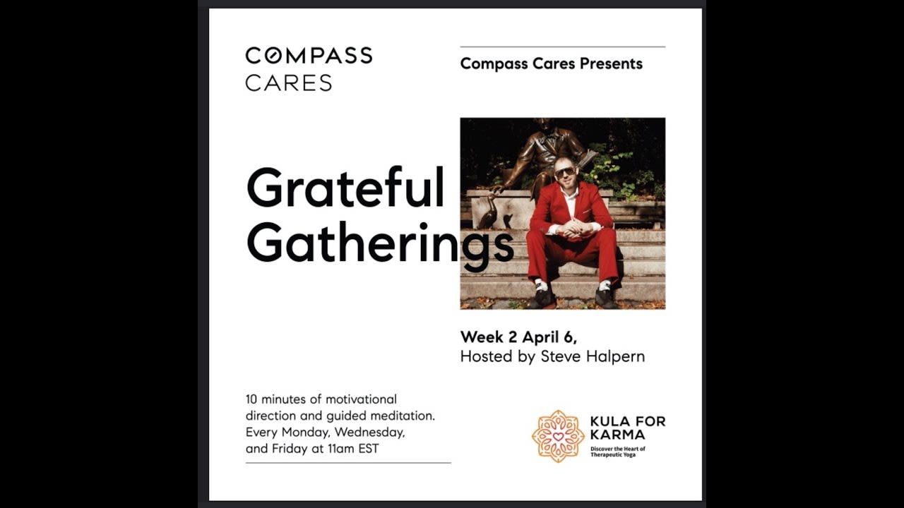 Grateful Gatherings - Compass Cares video preview