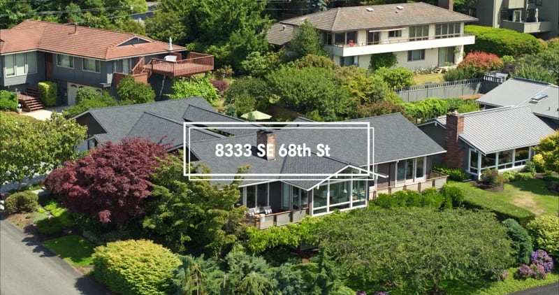 """8333 SE 68th St """"Panoramic Views on Mercer Ridge"""" video preview"""
