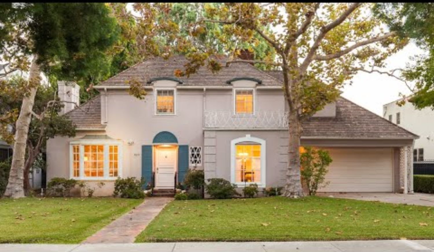 French Normandy home on a tree-lined San Marino street | 980 Roxbury Road San Marino CA video preview