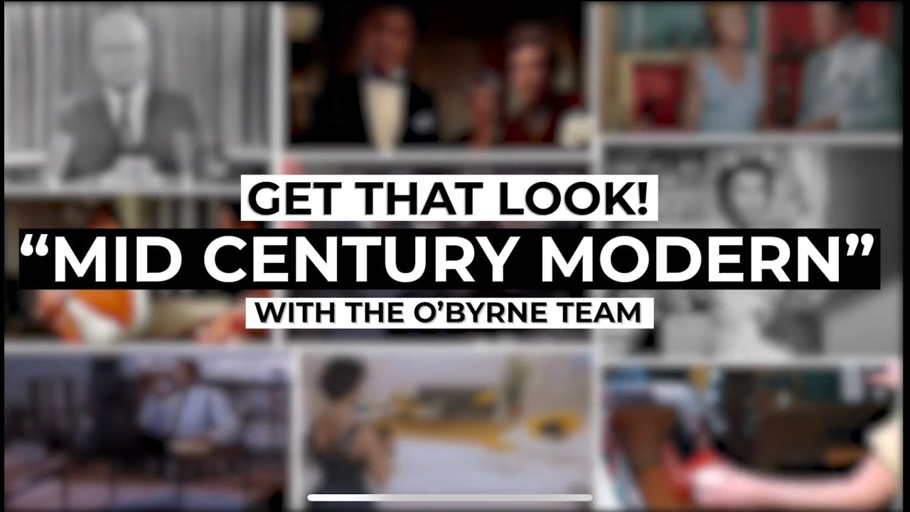 Get That Look: Mid Century Modern video preview