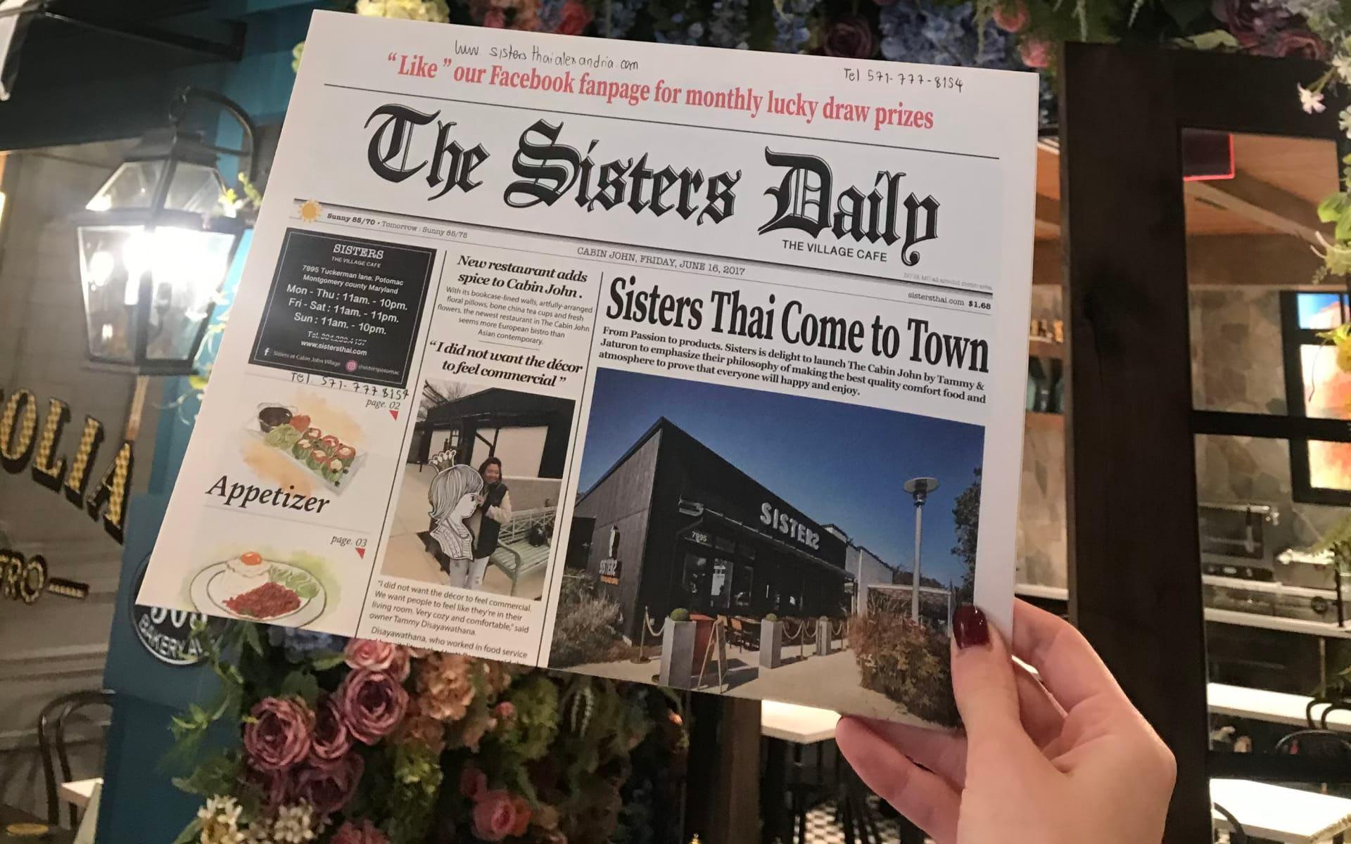 Resturant Report: Sisters Thai