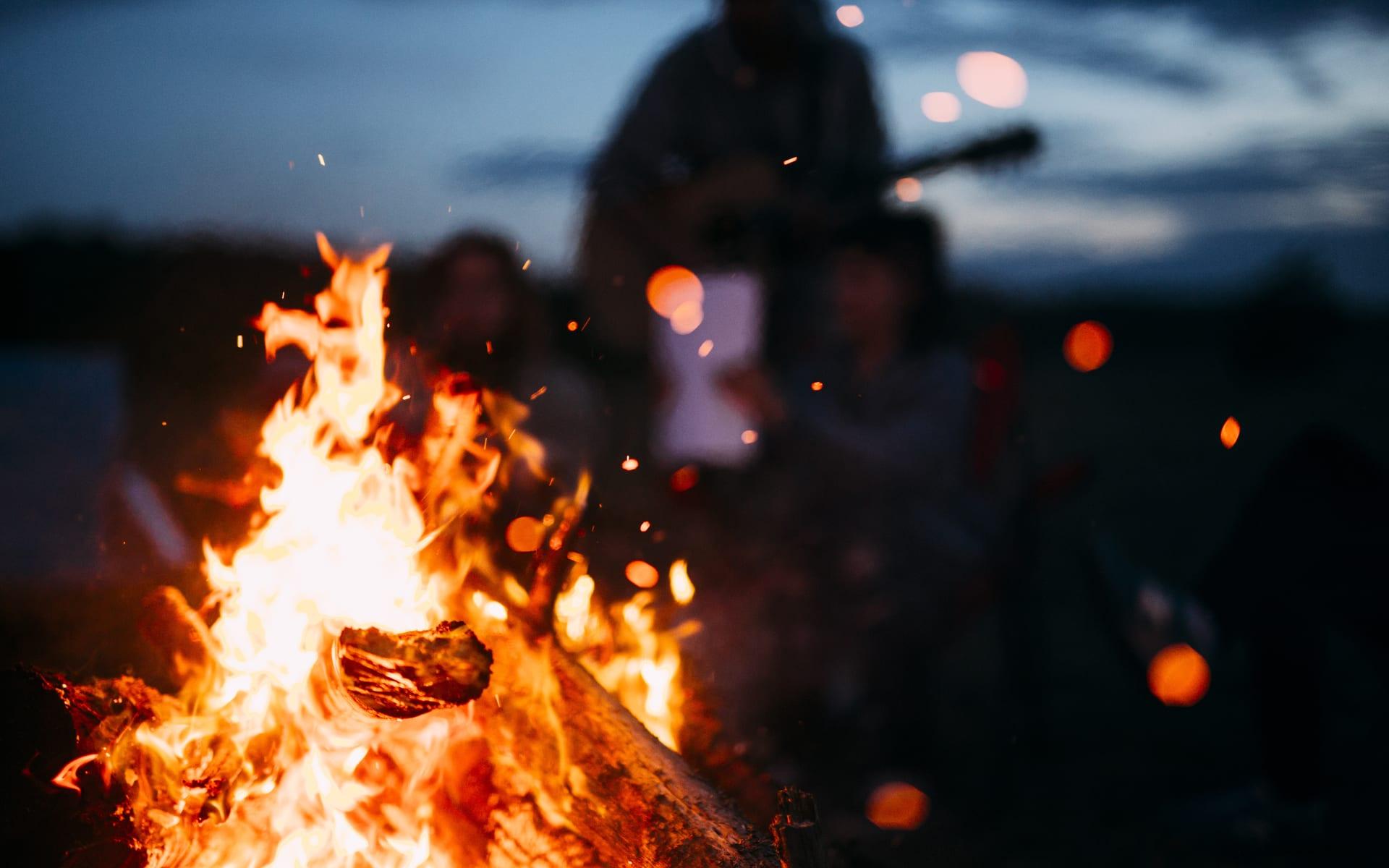 Finding Zen in a Catskills Bonfire