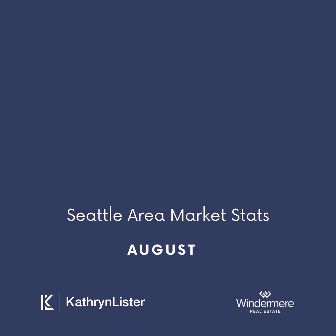 August Seattle Area Market Stats
