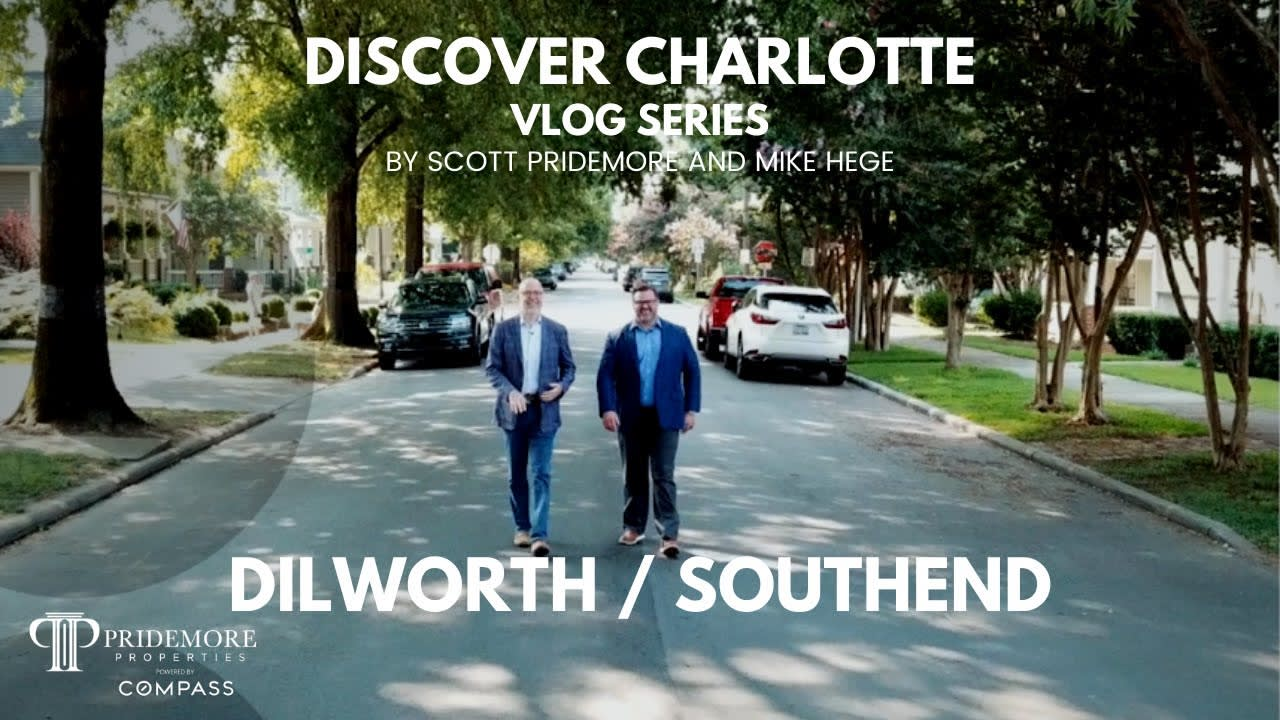 Discover Charlotte Vlog Series: #3   Dilworth / Southend   Scott and Mike video preview