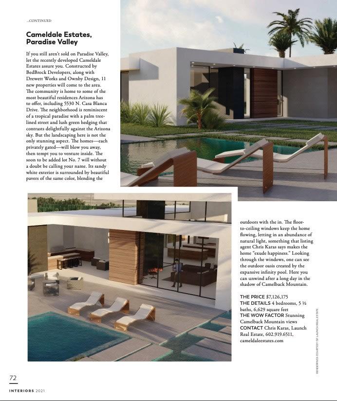 Modern Luxury Scottsdale presents Cameldale Estates